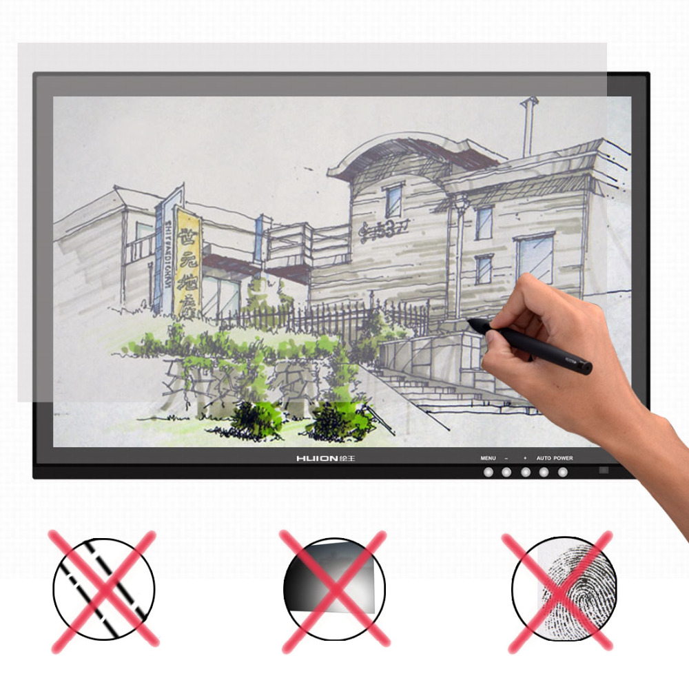 Huion GT 190 19 USB Digital Monitor Stift Tablet Monitor LCD Display Touchscreen 5080 LPI Professionelle Animation Zeichnung Bord - 3