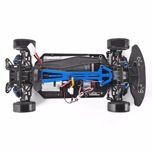 Image 4 - HSP RC Car 4wd 1:10 Electric Power On Road Racing 94123 FlyingFish 4x4 Rc Drift Car vehicle High Speed Hobby Remote Control Car