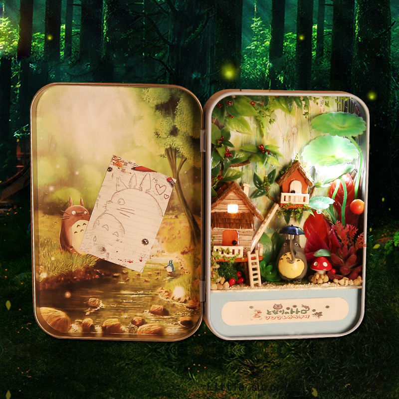 Model Building Diy 3d Miniature Assemble Box Theater Creative Diary Building Dollhouse Kits With Funitures For Child Festival Handmade Gifts To Win A High Admiration And Is Widely Trusted At Home And Abroad.
