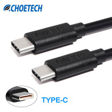 CHOETECH USB 2.0 High Speed Type C To Type C Reversible Connector Mobile Phone Cable Charging And Data Sync For Nexus 5X / 6P
