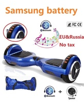 6 5 Inch Hoverboard Bluetooth And LED Skateboard 2 Wheel Self Balancing Gyroscooter Cheap Overboard Gyro