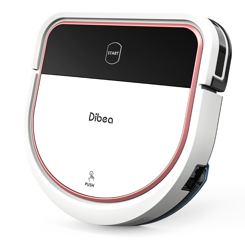 1 serbatoio dellacqua di ricambio dibea D500Pro 2 panni per la pulizia Set di accessori per aspirapolvere robot