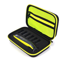 New Hard Case for Philips OneBlade QP2530/2520 Shaver Accessories EVA Travel Bag Storage Pack Box Cover Zipper Pouch with Lining