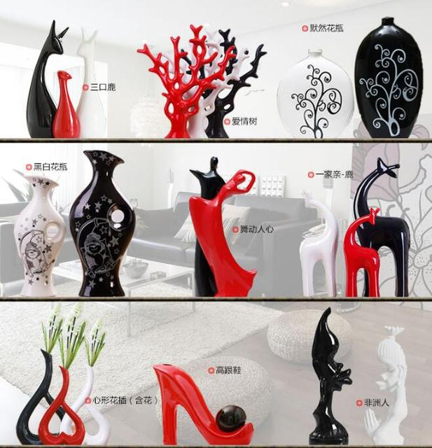 2018 Top Fashion Home Decoration Accessories Modern Living Room Ceramic Handicrafts Furnishing Wedding Gifts Housewarming Gift