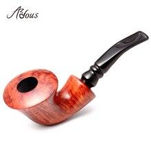 2019 New High-grade ADOUS Briar Tobacco pipe Smoking pipes elegant Natural Pattern AS938