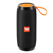 Portable Outdoor Bluetooth Speaker 10W Wireless Stereo Column Fabric Subwoofer Speakers Support TF card FM Radio USB AUX outdoor high power wireless bluetooth speaker portable charging cannon bass subwoofer for dust proof tf card fm radio speakers