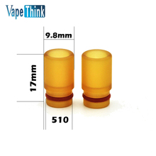 2pcs/lot Vapethink PEI Drip tip 510 heat-resistant mouthpiece drip type for smok tank atomizer electronic cigarette accessory