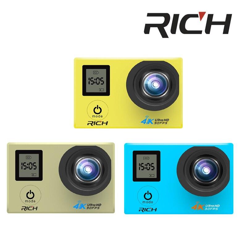 Sport & Action-videokamera PräZise Dhl 5 Teile/los V903d 4 Karat Action Kamera 2,0 Doppel Lcd Display 16mp Sport Wifi Kamera 30 Mt Wasserdichte 170 Winkel Hdmi Sport Kamera ZuverläSsige Leistung
