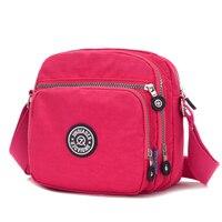 Women shoulder bags for women 2018 luxury handbags designer crossbody bags female waterproof nylon purse flap messenger bag