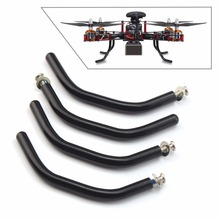 DIY Stainless Steel Landing Gear Anti shock Skid Tripod With 3 0MM Screws for 4 axle