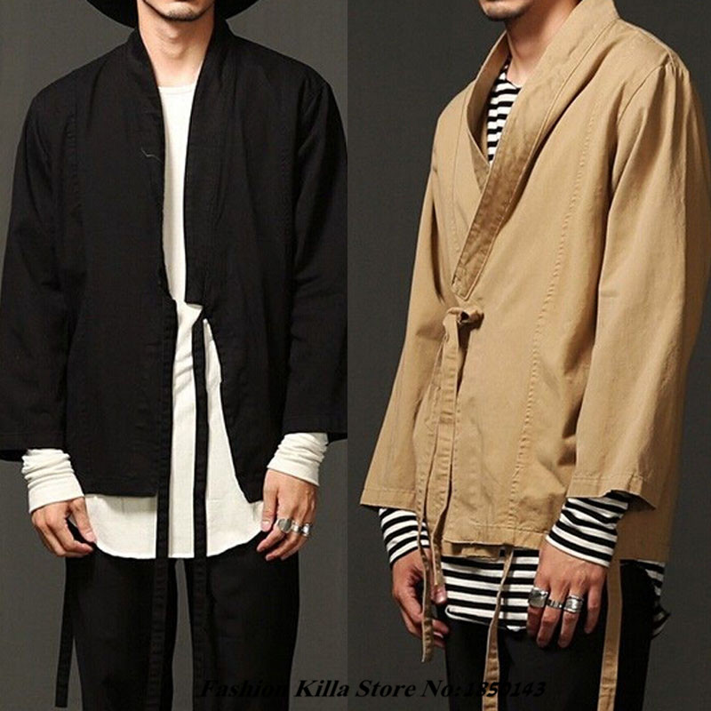 New Fashion Designer Cool Mens Kimono Japanese Clothes