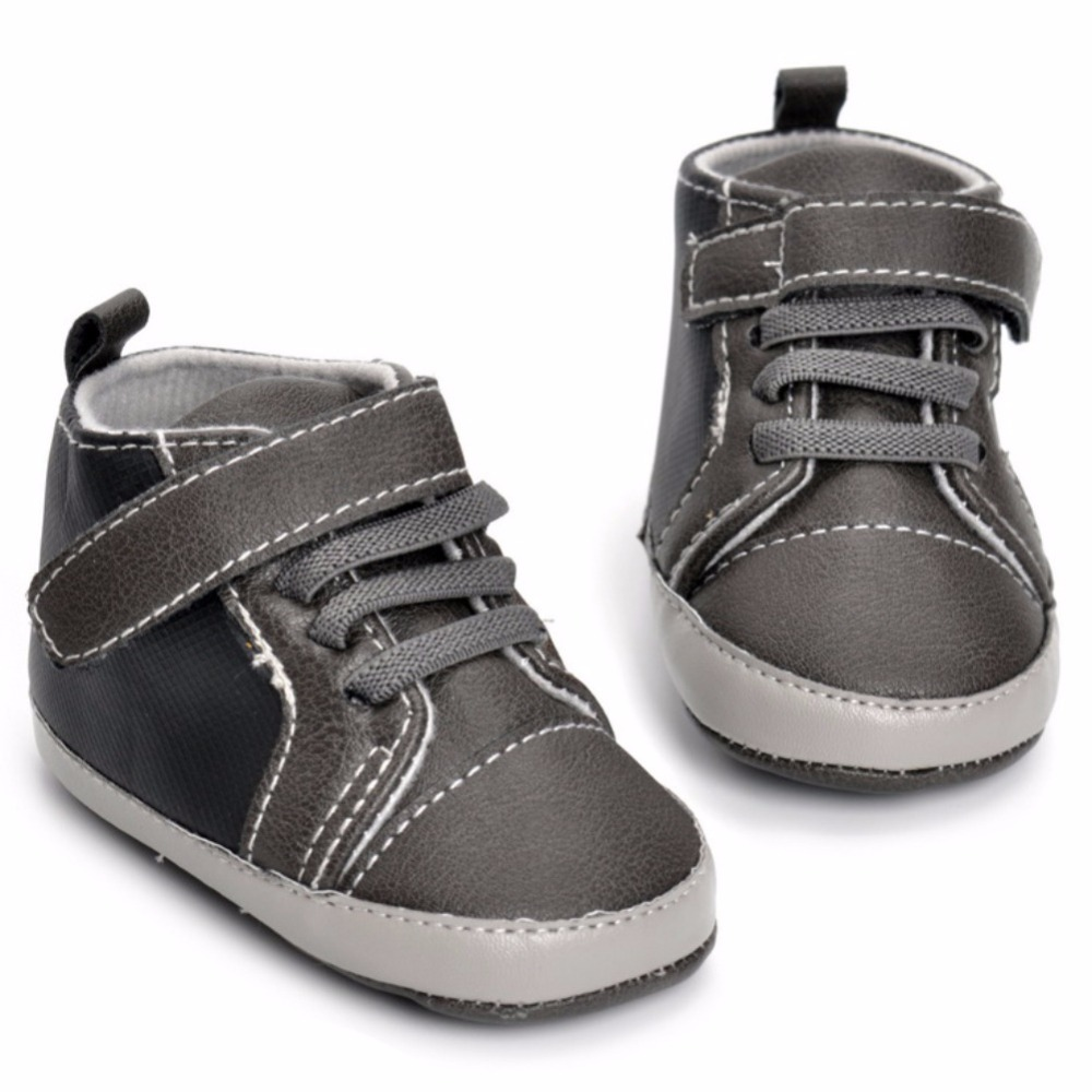 WEIXINBUY Hot Sell Fall Winter Boot Pu Leather born Baby First Walkers Infant Toddler Baby Moccasins Baby Boys Shoes Boot