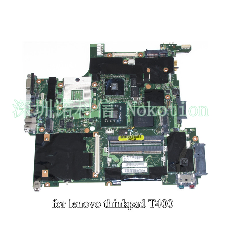 NOKOTION 63Y1199 42W8127 43Y9287 60Y3761 60Y4461 for lenovo IBM Thinkpad R400 T400 laptop motherboard jhgf955DDR3 14.1 Inch цена и фото
