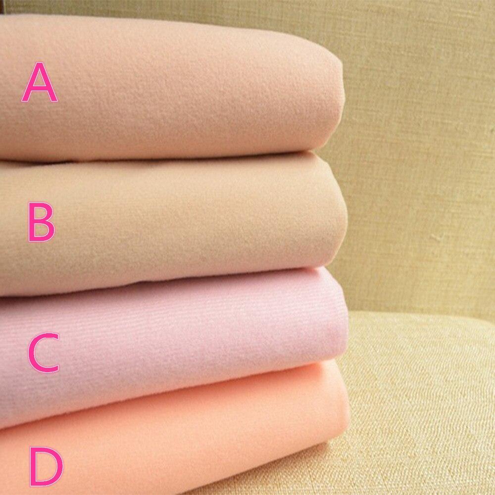50*150cm Doll Skin Cotton Fabric Meter Plush Fleec...