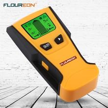 Floureon 3 In 1 Metal dedektör AC voltaji canlı tel duvar tarayıcı taşınabilir Metal ahşap damızlık bulucu elektrik kutusu bulucu