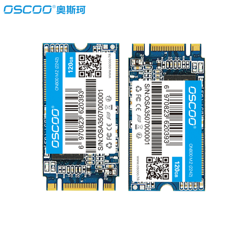 OSCOO 2242 NGFF SSD Hard Disk SATA3 6Gb/s 120GB 240GB Internal Solid State Drive SSD 240 GB For Lenovo Y510P,Jumper ezbook 3pro