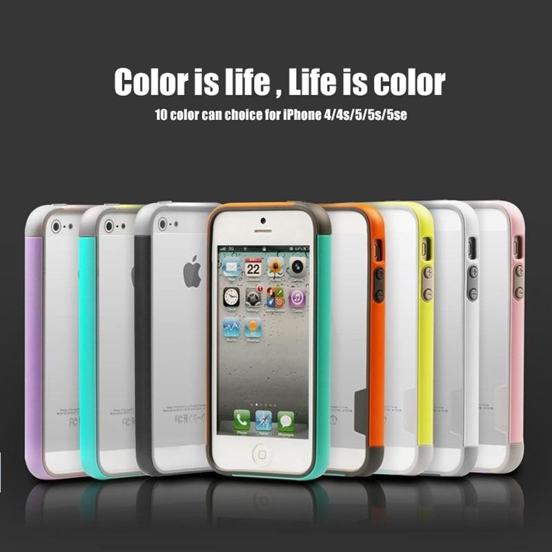 Փափուկ բամպեր iPhone 5s գործի համար TPU - Բջջային հեռախոսի պարագաներ և պահեստամասեր - Լուսանկար 5