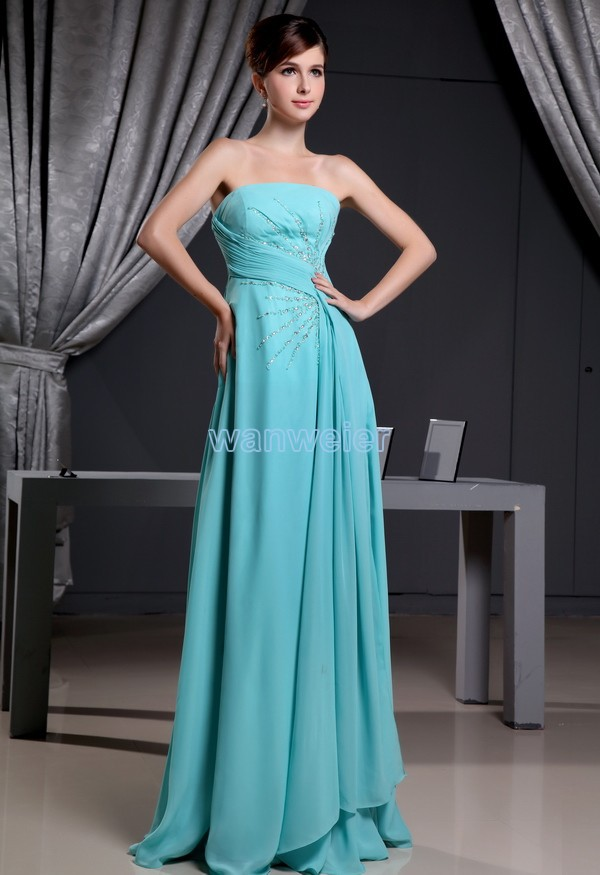 free shipping 2016 new arrival hot sale best formal custom size/color evening gown chiffon beading luxury evening dress woman