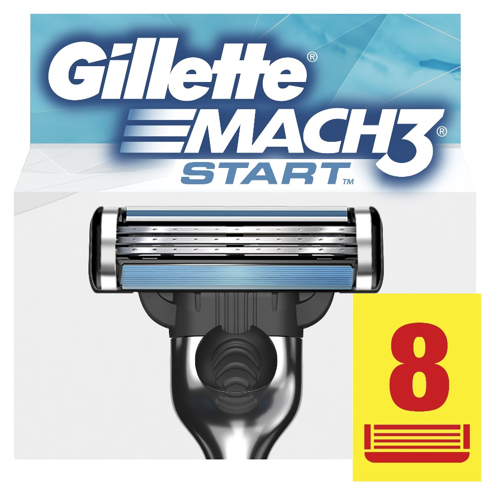 Replaceable Razor Blades for Men Gillette Mach 3 Start Blade shaving 8 pcs Cassettes Shaving  mak3 shaving cartridge mach3 1 pcs drum cleaning blade for ricoh mpc2500 mpc3000 printer copier spare parts