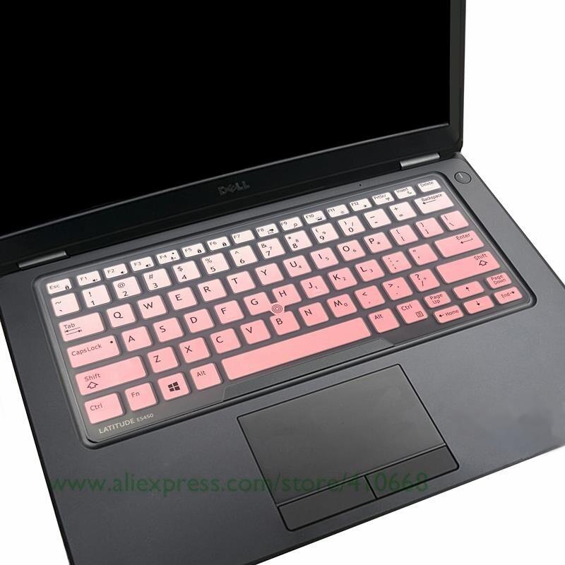 Fadeblue Silicone Laptop Skin Cover Protector for Dell Latitude 14 5480 5490 7490 14 3340 E3340 E5490 E5491 E5450 E7450 E7470 7480 E7480