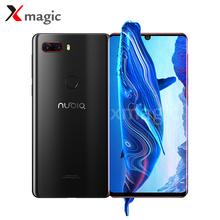 Newest Original Nubia Z18 Mobile Phone WaterDrop Screen 6GB RAM 64GB ROM Snapdragon 845 Octa Core Android 8.1 3450mAh Smartphone