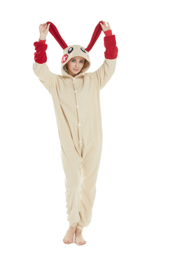Kigurumi Adult Cartoon Animal Green Antelope Onesies Unisex shark rabbit Pikachu Pajamas Cosplay Costumes Sleepsuit Sleepwear