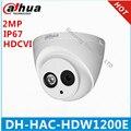 """HAC-HDW1200E DAHUA HDCVI КУПОЛЬНАЯ Камера 1/2. 7 """"2 Мегапиксельная CMOS 1080 P ИК 30 М IP67 DH-HAC-HDW1200E безопасности камера"""