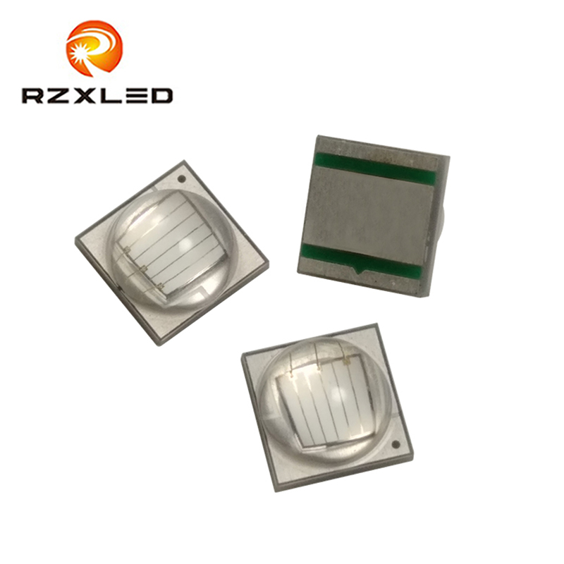 5Pcs/Lot LED XML2 Blue 445NM 450NM 455NM High power <font><b>10W</b></font> 3v SMD 5050Package <font><b>Diode</b></font> For Plant growth lamp image