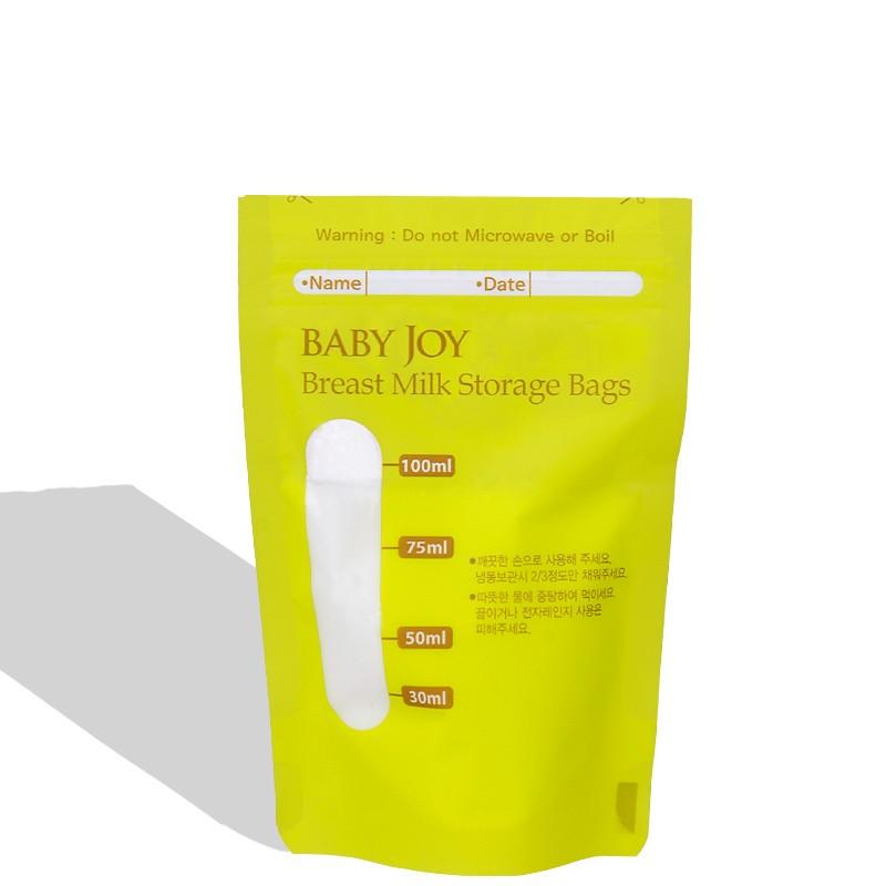 BPA Free 100ml30pcsSet Breastmilk Storage Bags For Storing Baby Food Human Breast Milk Bag Breast Pump Accessory Milk Storage 0