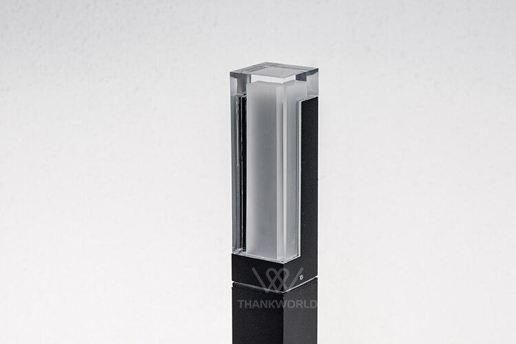 do gramado ip65 alumínio jardim luminária de