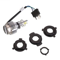 4000LM 34W H6 H4 Motorcycle Headlight Fog Lamp White COB LED Light High Quality Car Accessories