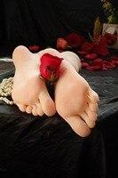 Силиконовые секс куклы Siliocne киска поддельные кремния девушка footfetish Средства ухода за кожей стоп Фетиш формы стопы модель фетиш поклонение ...