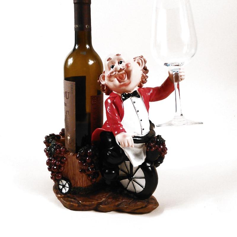 1 Pc Hars Barman Brothers Rode Wijnrek Fles Wijn Bekerhouder Stand Display Home Kitchen Bar Bruiloft Decoratie Kortingen Prijs