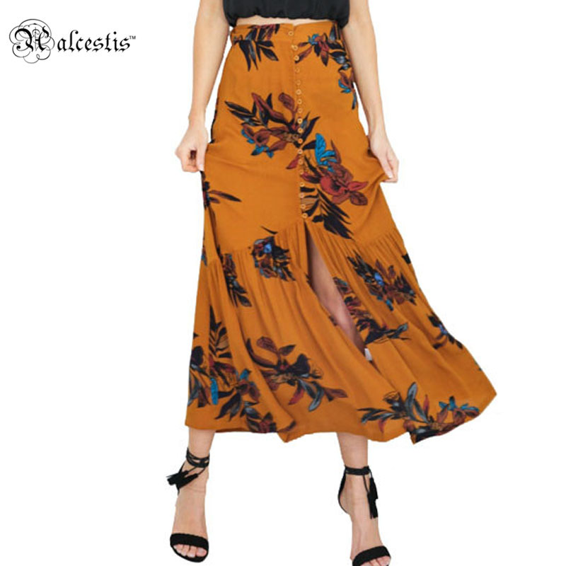 aliexpress buy alecstis high waist boho print