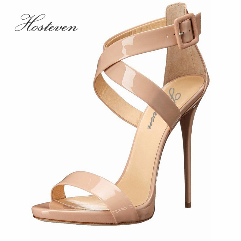 Hosteven Brand Women's Shoes Sandals High Heels Sexy Woman ...