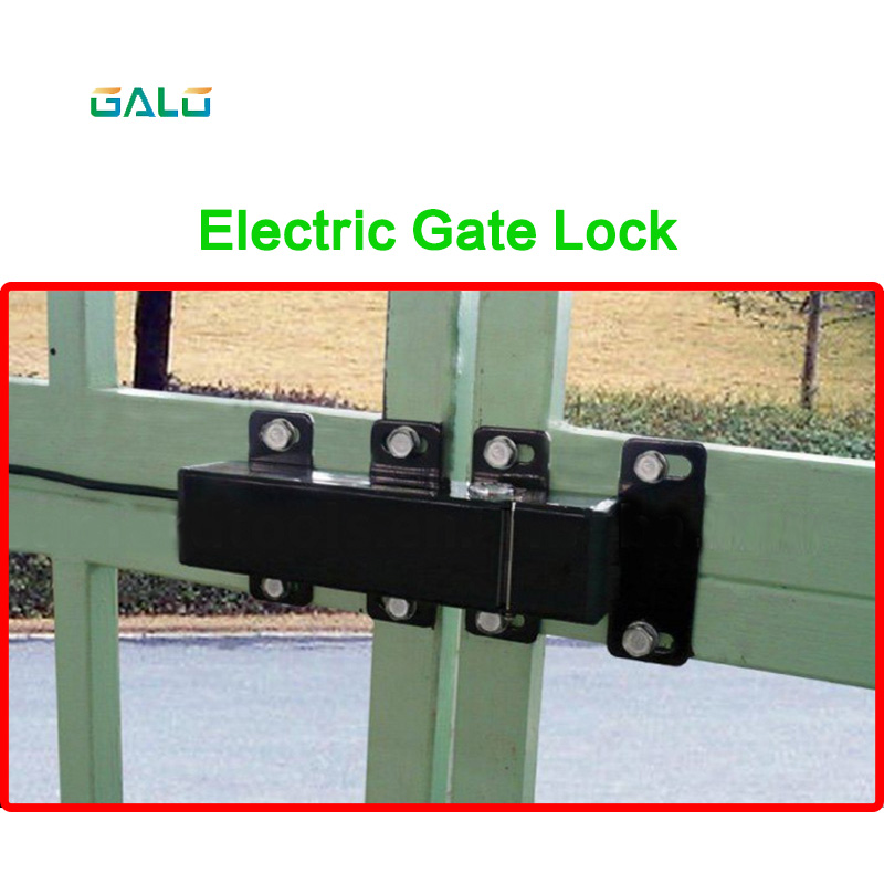 24VDC OUTDOOR WATERPROOF Electric Lock drop bolt for Automatic Swing Gate DOOR Opener Operator lpsecurity 100kg weight inward automatic swing door opener swing door operator closer keypad door lock ir sensor
