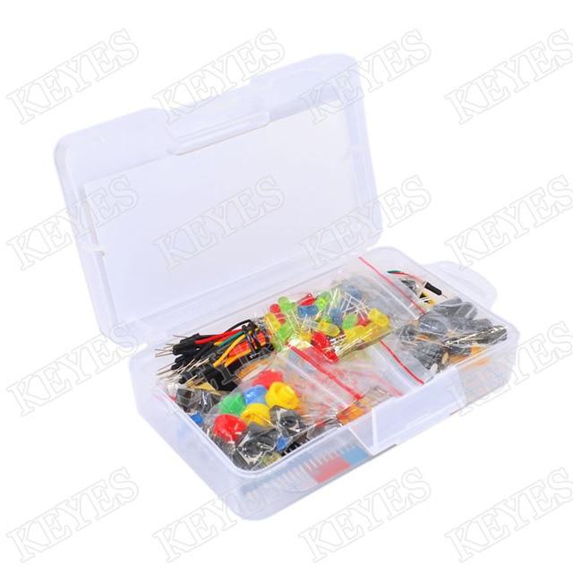 Robotlinking Starter Kit für Arduino Widerstand/LED/Kondensator ...