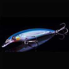 New Pesca Best Quality Fishing Wobbler 14g/110mm Floating Minnow Bass Fishing Lures With 8# Owner Hooks peche isca artificial