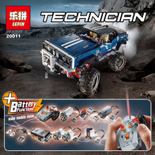 Factory sales LEPIN 1605Pcs Technic SUV 4×4 Crawler Exclusive Edition Model Building Kit Minifigure Blocks Brick Toy Gift 41999