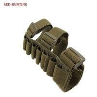 Nuevos 8 cartuchos tácticos cinturones bolsas molle fundas de caza holsters munición Shell Holder Shooters Mag bolsa bandollier bolsa|Bolsas|Deportes y entretenimiento -