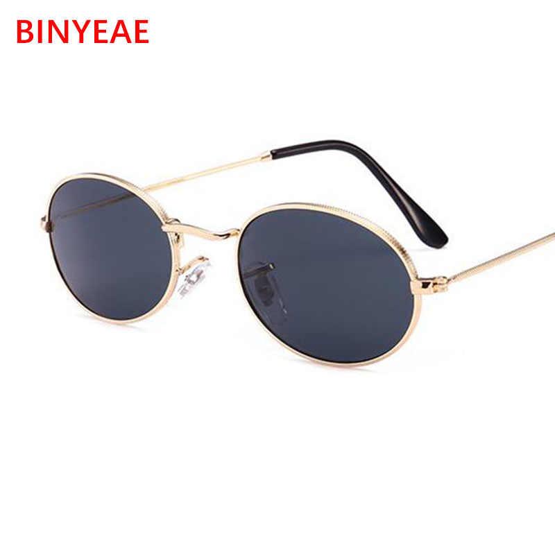 5393e19855 ... 90s Oval Sunglasses gold black retro pink red sun glasses women mirror  luxe 80s small round ...