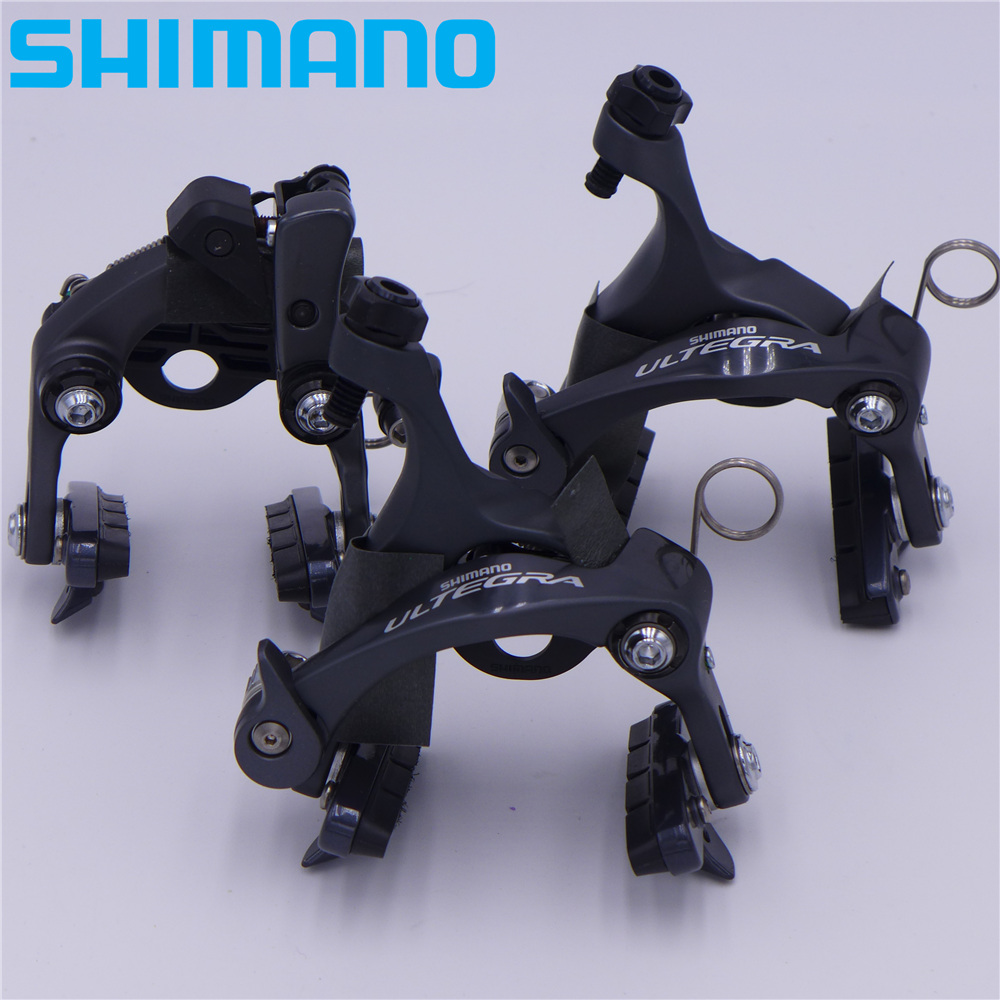 SHIMANO ULTEGRA BR 6810 Direct Mount Front Rear Brake Caliper BR-6810R 6810F 6810RS 2 pair universal car 3d style disc brake caliper covers front rear