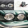 Para JAGUAR X-Tipo 2002-2008 Farol Excelente angel eyes kit Ultra brilhante farol de iluminação CCFL Anjo Olhos kit