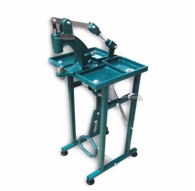 Machines de presse de bouton de poinçon/Machine de presse de main de pied de fabricant pour le bouton-pression en métal, oeillets, Rivet, font des trous