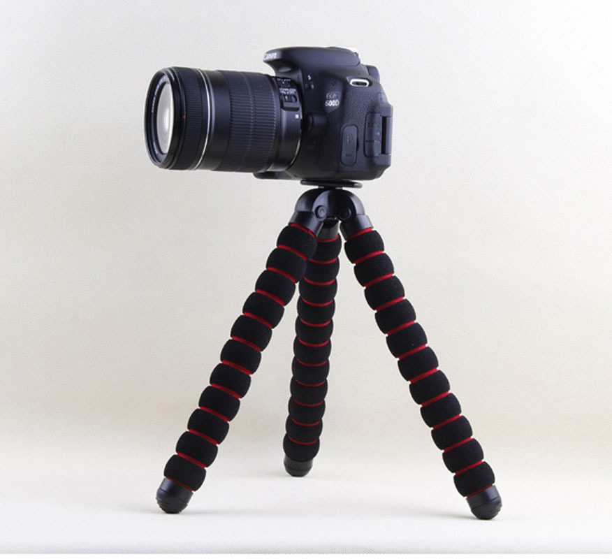 Kaliou Large Size Table Desk Flexible Sponge Octopus Tripod for Gopro 6 5 4 3 2 1 Canon Nikon Sony Camera DSLR
