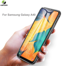 Keajor Glass For Samsung Galaxy A40 A60 A70 Tempered Glass Full Cover Screen Protection Film On For Samsung A40 Protective Glass