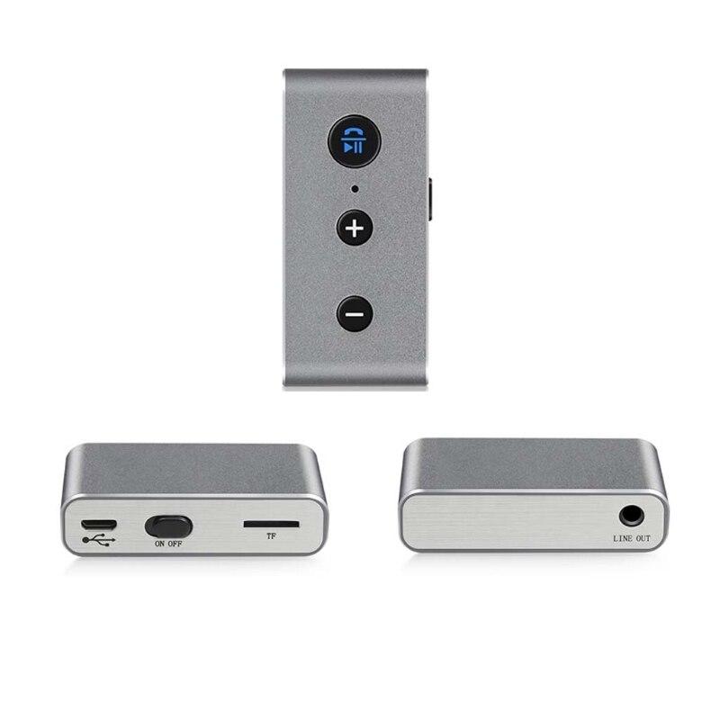 Effizient Ootdty Drahtlose 3,5mm Bluetooth Audio Receiver Tf-mp3-player Für Auto Lautsprecher Kopfhörer Im Sommer KüHl Und Im Winter Warm Tragbares Audio & Video