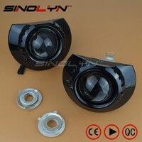 For BMW E46 ZKW M3 Wagon Sedan Coupe Headlight Mini 2 5 MH1 Black HID Bi