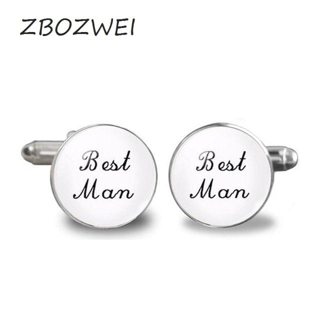 Zbozwi 2018 New Brand Cuff Wedding Cufflinks Men Shirt Groom Man Best Gift Fashion