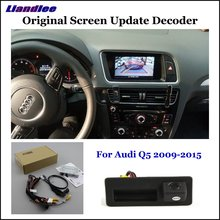 Liandlee For Audi Q5 8R (Low) Original Screen Update System +Car Rear Reverse Parking Camera /Digital Decoder /Rear camera liandlee original screen update system for mercedes benz gle class rear reverse parking camera digital decoder rear camera